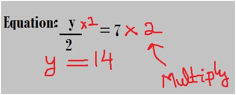 equation using Multiplication